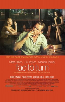 Factotum Charles Bukowski In Charge Fretts On Film