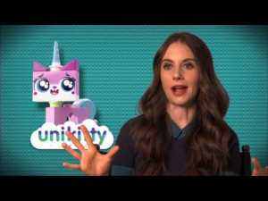 The-Lego-Movie-Alison-Brie-Unikitty-On-Set-Movie-Interview